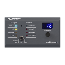 Enermoov - Victron Energy - monitoring batterie Digital Multi Control
