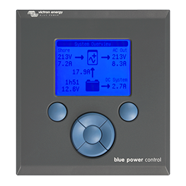 Enermoov - Victron Energy - monitoring batterie Blue Power Control