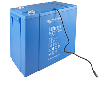 Enermoov - Victron Energy - batterie lithium - pose batterie lithium