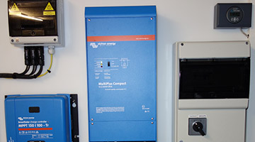 Installation Victron Energy